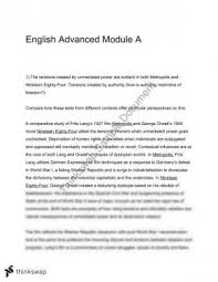 theme essay for 1984 george orwell 1984 essays this is an essay on how george orwell used