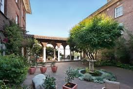 san francisco zen center courtyard zen mind material world