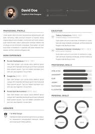 cool resume formats photoshop resume template resume for your job application 89 marvelous creative resume templates free