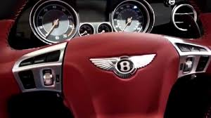 bentley sports car interior bentley luxury car red interior youtube