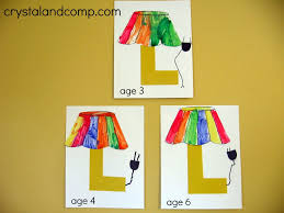 l is for lamp a letter of the week preschool craft activities