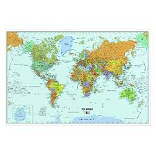 wallpops world map sticker dry erase 24x36 eng deserres