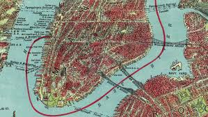 Ny Transit Map Vintage Nyc Map New York City Historical Blog