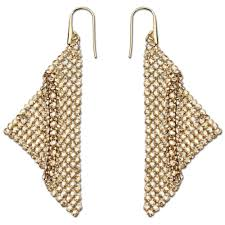 earrings uk swarovski fit gold drop earrings 1160580 earrings from joshua