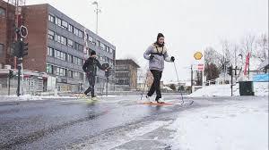 a winter day in oslo