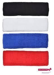 workout headbands 4 pack terry sweatband cotton headbands absorbent workout quality