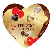 amazon com ferrero rocher heart gift box 16 count 7 oz