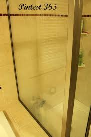 remove soap scum from glass shower door pintest 365 day 73 cleaning soap scum off shower doors success