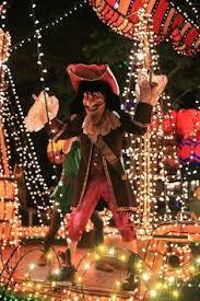 electric light parade disney world captain hook s ship magic kingdom electrical parade disney s