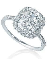 diamond ring cuts cushion cut diamond engagement rings martha stewart weddings