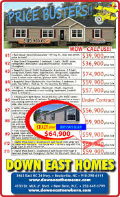 4 Bedroom Double Wide Mobile Home U0026 Modular Home Dealer Down East Homes Of Beulaville Nc