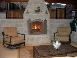 small outdoor fireplace binhminh decoration