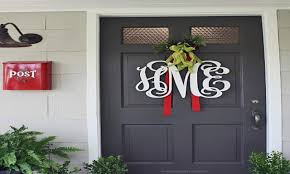 7 front door christmas decorating ideas hgtv with regard to