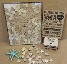 heart guest book 200 heart wedding guest book drop box alternate guestbook