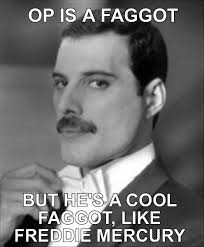 Faggot Meme - freddie mercury op is a faggot know your meme
