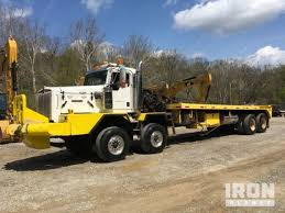heavy duty kenworth trucks for sale kenworth winch oil field trucks in pennsylvania for sale used