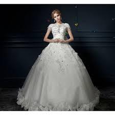 wedding dresses fluffy arrival princess beading embroidery fluffy wedding dress