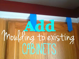 On Bliss Street DIY Cabinet Moulding For Kitchen Cabinets  On - Kitchen cabinets moulding