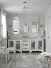 bathroom gray wall lamp gray marbled floor brown bathroom