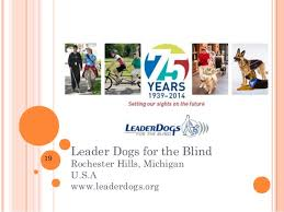 Leader Dogs For The Blind Rochester Michigan Social Media Guide Dog