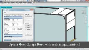 Garage Length by Advanced Sectional Garage Door Revit Family Youtube