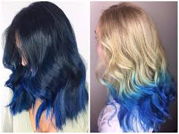 hair color light to dark blue ombre hair color light and dark shades 2017