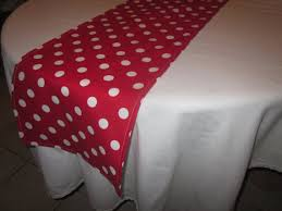 red white polka dot table covers red and white polka dot table runner minnie mouse party
