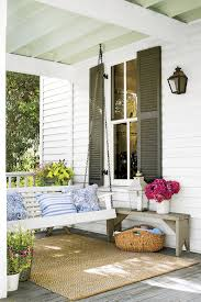Covered Porch Ceiling Material by Southern Tradition How To Add Haint Blue Porch Ceiling Haint