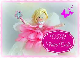 diy how to make fairy dolls youtube