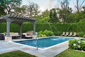 Luxury Swimming Pool Designs - luxury backyard swimming pool design with additional interior