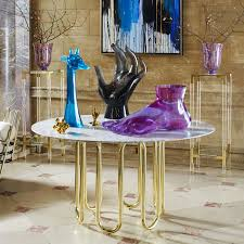 foot purple sculpture modern decor jonathan adler