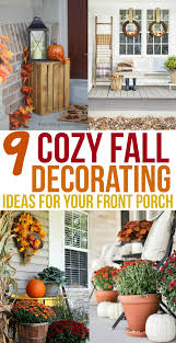 Fall Decorating Ideas For Front Porch - 9 cozy fall porch ideas to decorate your home artful homemaking