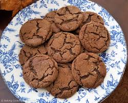 chewy molasses cookies recipe baking cooking adventures