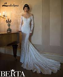 berta wedding dresses gorgeous lace mermaid berta wedding dresses with pearls crystals