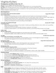 Photographers Resume Sample by Photography Resume Best Free Resume Collection