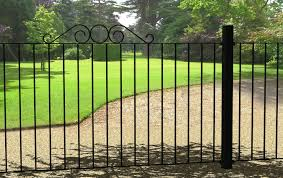 black metal fence gate u2014 home ideas collection style and