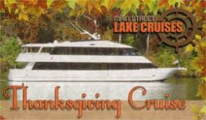 thanksgiving day cruise on lake cruises landing