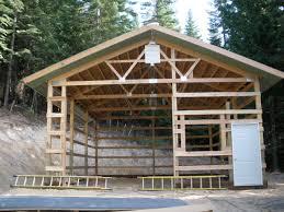 installing door in pole barn
