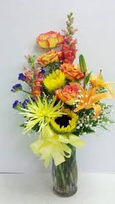 florist express and snassy a beautiful sunflower mix designed by e