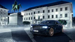 ghost bentley 2015 spofec black one based on rolls royce ghost series ii front