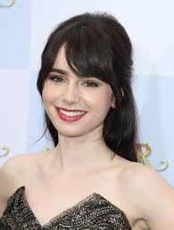 Hair Color For White Skin Get The Look Lily Collins The Fairest Of Them All More Com