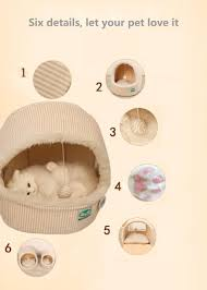Small House Dogs New Autumn Winter Teddy Pet Small Dogs House Cat Bag Kennel U0026pens