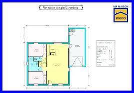 plan de maison plein pied gratuit 3 chambres plans maison plain pied 3 chambres excellent plan maison en u