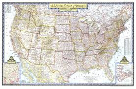 united states of america map with states and cities united states of america map 1946 maps