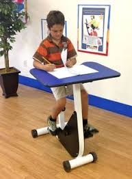 Standing Desks For Students This Really Works A Standing Desk With A Band To Kick Pump