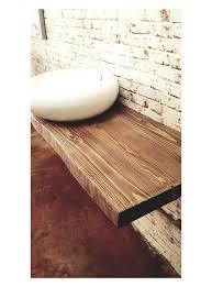 mensole rovere grigio mensole e piani lavabo da bagno in legno massello su misura