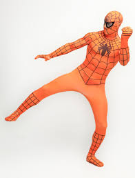 Spandex Halloween Costumes Popular Orange Zentai Buy Cheap Orange Zentai Lots China