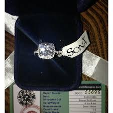 3 engagement ring all sizes vvs1 3ct cushion cut diamond pt950 3ct nscd sona