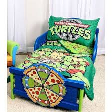 Ninja Turtle Comforter Set Mutant Ninja Turtles 3 Piece Toddler Bedding Set