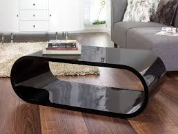 Wood Oval Coffee Table - modern coffee tables to complete your living room furnishing